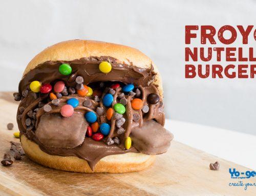 Froyo Nutella Burgers