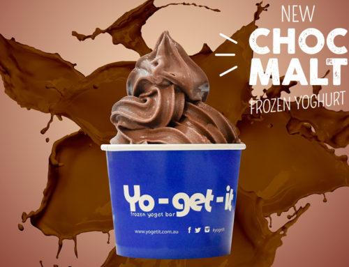 Choc Malt Frozen Yoghurt